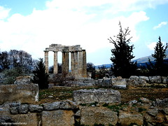 TEMPLE OF ZEUS,NEMEA PELOPONNESE-GREECE