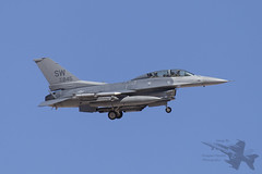 General Dynamics F-16D 90-0845 0431 (Newdawn images) Tags: plane airplane aircraft aviation military nevada jet aeroplane falcon viper jetfighter redflag generaldynamics f16d militaryjet nellisairforcebase canoneos6d 55thfs 20thfw 20thfighterwing 55thfightersquadron 900845