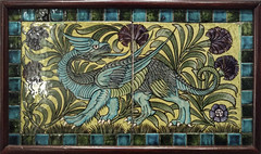 The De Morgan Collection at Watts Gallery (Kotomi_) Tags: tile ceramic compton guildford artsandcrafts williamdemorgan demorganfoundation