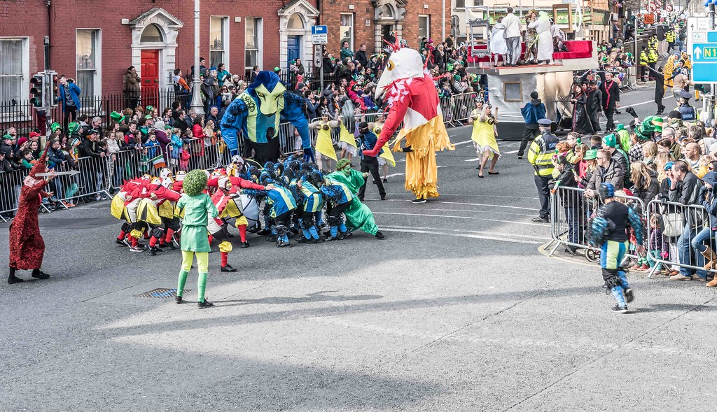 GAME ON BY CITY FUSION [DUBLIN 2016 PATRICK'S DAY PARADE]-112564