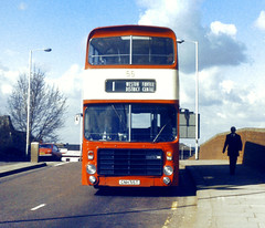 Slide 048-54 (Steve Guess) Tags: uk england bus buses bristol vrt transport northamptonshire corporation gb northants