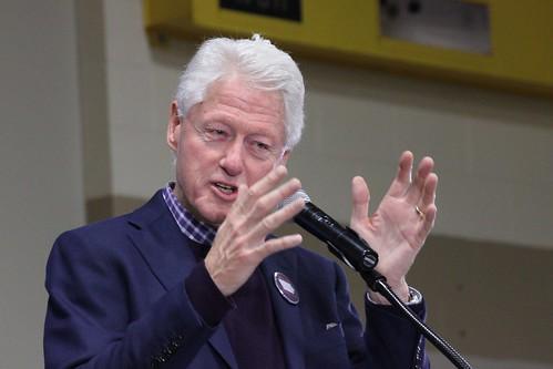 Bill Clinton by cornstalker, on Flickr