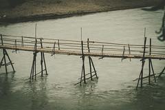 (c) Wolfgang Pfleger-0355 (wolfgangp_vienna) Tags: bridge river asia asien bamboo khan laos brcke luangprabang nam luang prabang bambus namkhan