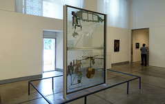 Duchamp, The Large Glass, gallery view