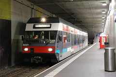 2016-03-08, ASm, Biel/Bienne (Fototak) Tags: train switzerland eisenbahn railway treno 505 bti gtw asm stadler schmalspurbahn