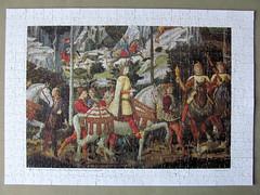 Journey of the Magi (pefkosmad) Tags: italy art painting hobby puzzle leisure jigsaw pastime journeyofthemagi artpuzzle bgozzoli
