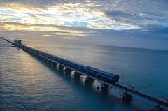 train (Arunkumar Muthuvel) Tags: bridge train rameswaram
