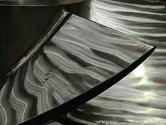 Polierte Schaufeln einer DIVE-Turbine (zikade) Tags: dive fella turbine amorbach edelstahl schaufeln nachhaltig diveturbine fellamaschinenbaugmbh renerativeenergie