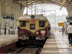Leaves To Fade in Time (Saurabh Raut) Tags: brown india history rock train canon ir dc harbour central trains powershot third emu thane trans railways rare current trainspotting cr direct hs ranakpur icf indianrailways rajdhani jessop railfanning panvel irfca hbl thbl pnvl sx530