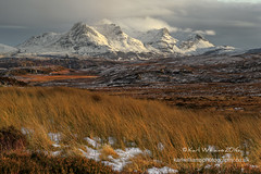 Loyal Highlights (Shuggie!!) Tags: winter snow mountains clouds landscape scotland highlands williams heather hills karl grasses sutherland hdr afternoonlight zenfolio karlwilliams