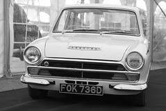1966 Lotus Cortina Mk1 (davocano) Tags: lotuscortina brooklands mk1cortina carauction historicsatbrooklands fok736d