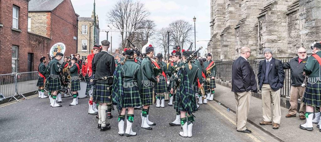 SHORECREST HIGH SCHOOL [ST. PATRICK'S PARADE IN DUBLIN 2016]-112246