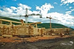 Pioneer Log Homes (miss604) Tags: bc williamslake explorebc timberkings pioneerloghomes