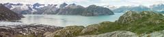 Panorama of Lamplugh Glacier hike, Glacier Bay National Park, Alaska (Matt-Zimmerman) Tags: panorama alaska us kayak unitedstates hike kayaking lamplughglacier gustavus 2015 glacierbaynationalpark westarm