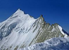 Weisshorn (4505 m) (giorgiorodano46) Tags: alps alpes schweiz switzerland suisse august 1981 zermatt alpen svizzera alpi wallis analogica valais weisshorn zinal bishorn vallese agosto1981 giorgiorodano traquit