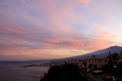 Mt Etna Sunset (Aussie Mozzie) Tags: sunset italy canon sicily taormina etna mtetna