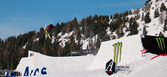 in the air (MNP[FR]) Tags: trees winter mountain snow ski france monster les montagne freestyle energy sweden jacob contest be 1800 savoie arcs invitational wester bourgsaintmaurice freeski