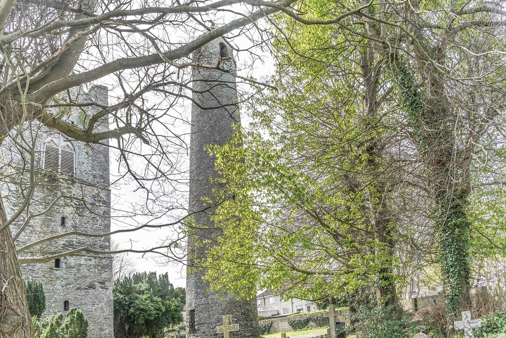 St. Columba's Church And Grounds In Swords County Dublin [Church Road]-115249