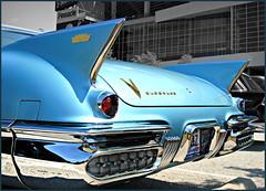 1957 Cadillac Eldorado Blue (SpeedProPhoto) Tags: cadillac eldorado caddy goodguysshow514derby