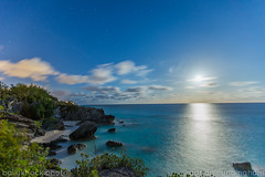 astwood cove (adicunningham) Tags: longexposure moon night moonlight bermuda islandlife astwoodpark