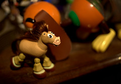 Whats the buzz all about... (raymondclarkeimages) Tags: horse usa closeup canon toys photography photographer toystory indoor pixar bullseye figurine 6d 50mm18 rci imageof pictureof picof raymondclarkeimages 8one8studios
