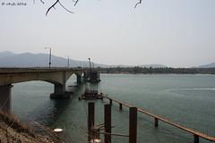 Karwar Bridge (v4vjk) Tags: india trek canon nikon karnataka dandeli karwar ulavi canon40d nikon20mmf35ais