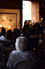 concert (dycolares) Tags: old light brazil lady island concert watching piano paqueta elderly age pianist