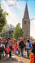 Koningsdag 2014_Heemskerk xxxSAM_2424 (Nico Z1) Tags: feest tower toren clocktower celebration heemskerk dorpskerk koningsdag kingsday torenklok