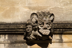 Gargoyles of the Great Quad (smir_001 (on/off)) Tags: travel autumn england sculpture english history college tourism beautiful stone architecture ancient university britain medieval september gargoyle oxford historical british creatures cloisters hieroglyphs grotesque magdalencollege carvedstone chimeras greatquad canoneos7d