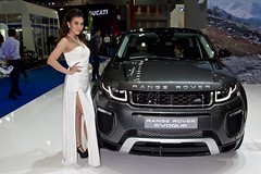 Beautiful, sexy presenter with Range Rover Evoque at the 37th Bangkok International Motorshow at IMPACT Challenger in Muang Thong Thani, Nonthaburi, Thailand (UweBKK ( 77 on )) Tags: auto show woman sexy cars girl beautiful beauty fashion thailand design hall model automobile asia dress bangkok sony style automotive rover exhibition event international thong impact motor southeast 37 alpha dslr thani range 77 challenger slt motorshow presenter 37th muang nonthaburi evoque