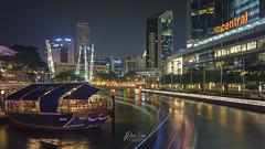 _DSC839801-wm (patlawhl) Tags: ltm outdoor jupiter12 lighttrails nightscene nightlife russian boatquay bumboat singaporeriver filmlook famousplace 3528 vintagelens oldlens colorgrading sonyalpha mirrorless boattrails patlaw sonya7r