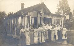 WCTU Rest Cottage (The Cardboard America Archives) Tags: vintage women postcard prohibition temperance rppc wctu