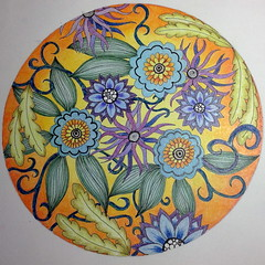 Flower doodle (sueingram24) Tags: floral botanical doodle zentangle zendoodle