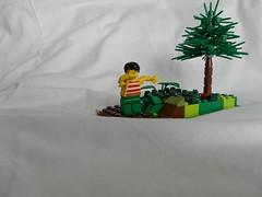 Savage dabber XD (BRICKEVIL) Tags: lego lol stripes lmao dab lmfao awesomeness