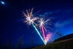 fireworks (Moritz Reisinger) Tags: night fireworks nacht feuerwerk