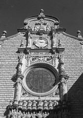 Abadia de Montserrat, Spain 2016 (nikonimaniac) Tags: barcelona march spain kodak nikonf100 150 rodinal 20c 2016 iso80 nikkor50mmf18d 10min expiredin1986 svema65