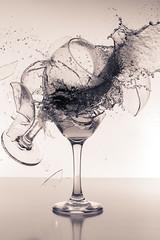 Making a Splash in the Kitchen (Brand!n) Tags: studio smash nikon wine action flash wineglass nikkor highspeed dinnerware fragment highspeedphotography d810 nikon247028