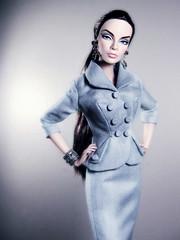 Grey Matters (Paris In BKK) Tags: fashion toy doll suit fashiondoll fr exclusive tatyana integrity wondrous grabbox dollportrait fashionroyalty wclub itbe