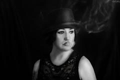 120|365 (Silent Purr) Tags: portrait selfportrait self smoke indoor portrt human personen 365project 365dayproject