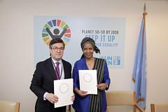 UN Women signs MOU with Inter-American Development Bank (UN Women Gallery) Tags: usa newyork wee csw empowerment weps genderequality commissiononthestatusofwomen unwomen csw60