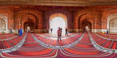 Jama Masjid - Panorama (jeglikerikkefisk) Tags: panorama india pano delhi indien 360 jamamasjid sphericalpanorama olddelhi moschee equirectangular kugelpanorama sphrischespanorama