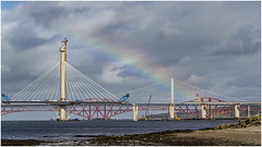 Rainbow 3 (Jistfoties) Tags: forth queensferry southqueensferry forthbridges civilengineering newforthcrossing pictorialrecord queensferrycrossing