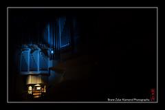 blue organ (alamond) Tags: blue light music canon dark concert pipes organ 7d l usm gallus ef f4 1740 mkii markii brane llens alamond zalar