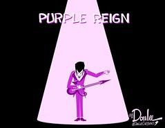 0416 purple reign cartoon (DSL art and photos) Tags: music prince obituary inmemoriam purplerain editorialcartoon donlee obitorialcartoon