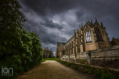 Ushaw College (ianbrodie1) Tags: old flowers building college catholic durham tulips roman outdoor priest seminary ushaw