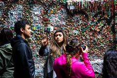 Gum Wall selfie-08753 (Gene Trent) Tags: pikeplacemarket gumwall