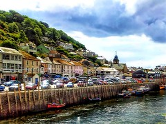 East Looe (anshanjohn) Tags: walking cornwall summer2012