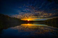 See am Abend..! (radonracer) Tags: sunset lake see sonnenuntergang abendstimmung niederrhein