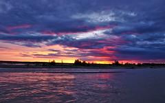 Tanana River Sunset (Lee Petersen) Tags: sunset color reflection alaska river sunriseandsunset