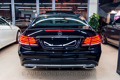 Mercedes E 350 BT Coupè *AMG PLUS * - C207-  252 c.v - Negro Obsidiana